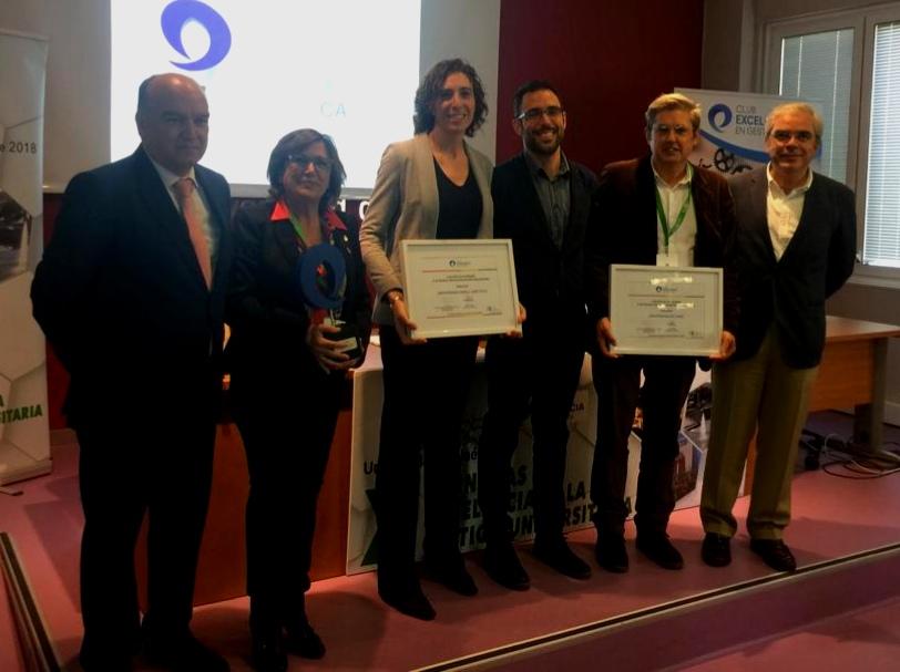 El II Plan Estratégico logra el Premio a las Buenas Prácticas en Gestión Universitaria 2018