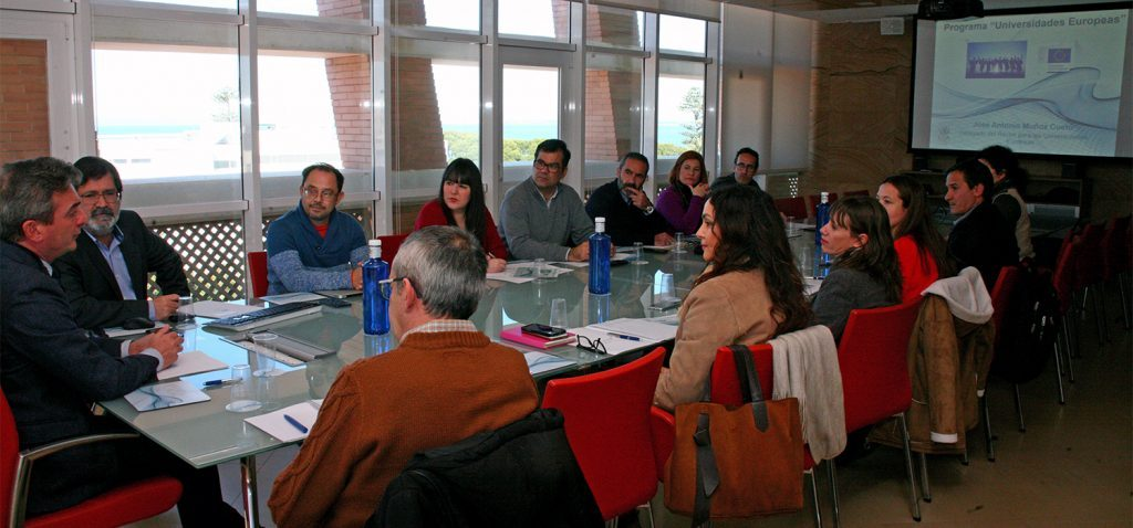 UCA presents the proposal of the European University of the Seas (SEA-EU) to institutions and companies