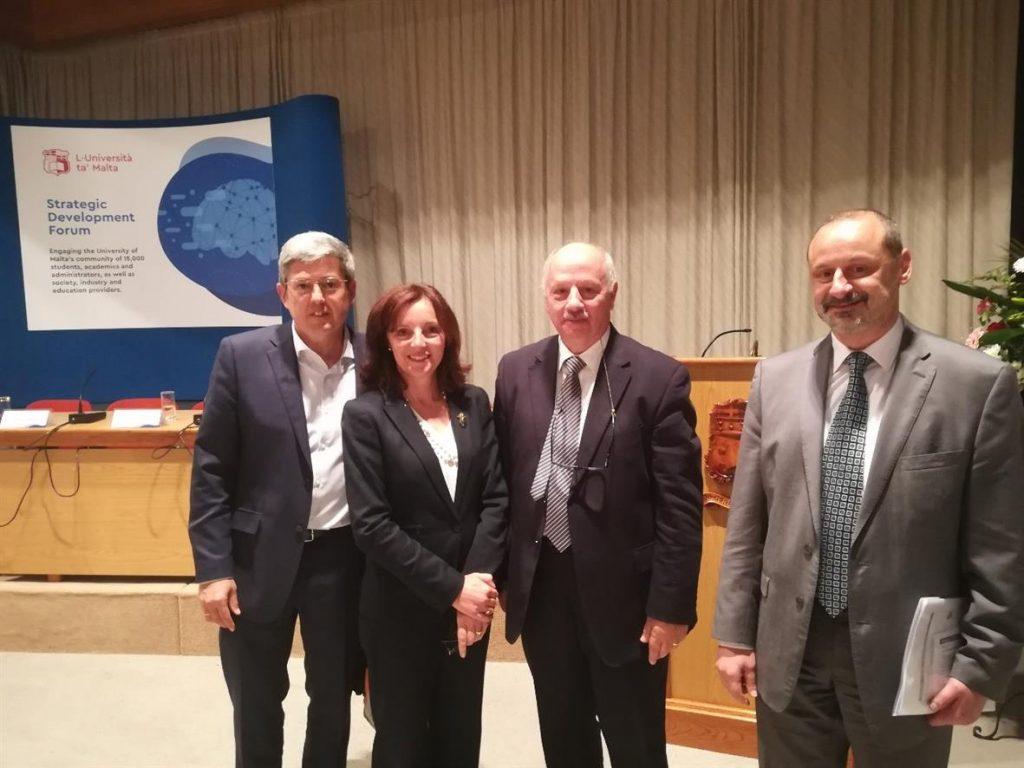 La Delegación del Rector para el Desarrollo Estratégico actúa como observadora internacional del Plan Estratégico de la Universidad de Malta.